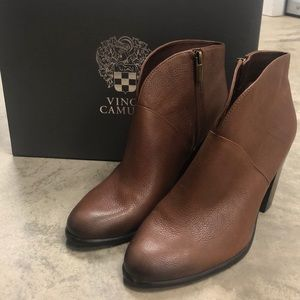 Vince Camuto Brown Franell Heels